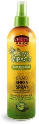 African Pride Olive Miracle Braid Sheen Spray Hair Styler