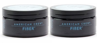 American Crew Fiber Pliable Molding Cream Pack of 2 Hair Styler