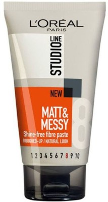 LOREAL PARIS STUDIO LINE MATT & MESSY SHINE FREE FIBRE PASTE-8 Hair Styler
