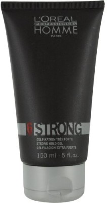 L ,Oreal Paris Homme Strong Hold Gel Hair Styler