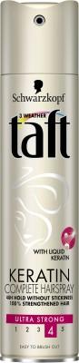 Schwarzkopf Professional Taft Keratin Hairspray Hair Styler