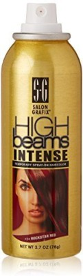 High Beams Intense Temporary Spray On Hair Color Rockstar Red #24 Hair Styler