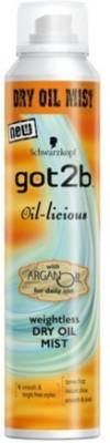 Schwarzkopf Oil - Licious Dry Mist Hair Styler