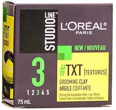 L,Oreal Paris Studio Line Txt Grooming Clay Hair Styler