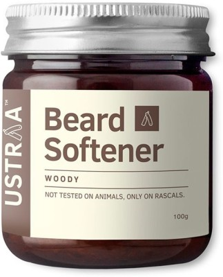 USTRAA by HAPPILY UNMARRIED Beard Softener Woody Hair Styler
