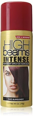 High Beams Intense Temporary Spray On Hair Color Burgundy Hair Styler