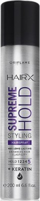 Oriflame Sweden HairX Supreme Hold Styling Hairspray Hair Styler