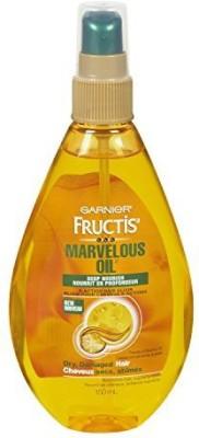 Garnier Skin and Hair Care Fructis Marvelous Oil Deep Nourish Action Hair Elixir For Dry And Damaged Hair Fluid Hair Styler