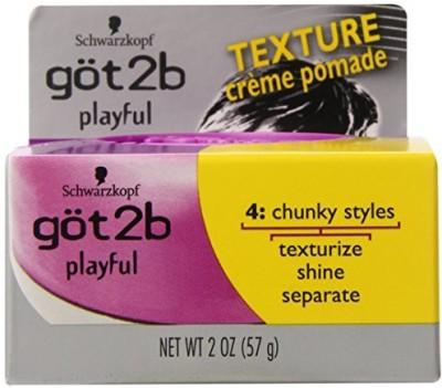 Got2b Playful Texturizing CreMe Pomade (Pack Of ) Hair Styler