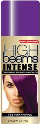 High Beams Intense Temporary Spray On Hair Color Punky Purple #25 Hair Styler