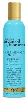 OGX Argan Oil Of Morocco Voluminous Mousse Hair Styler