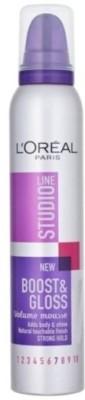 L ,Oreal Paris Boost & Gloss Volume Mousse 7 Hair Styler