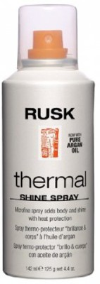 Rusk Thermal Shine Spray, With Pure Argan Oil Hair Styler