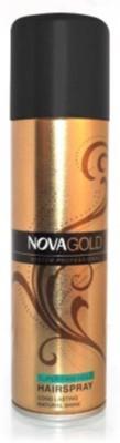 Nova Gold System Professional Hair Spray - Super Firm Hold Hair Styler