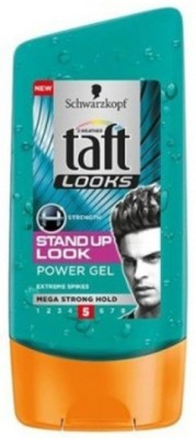 Schwarzkopf Taft Looks Stand Up Power Gel Mega Strong Hold 5 Hair Styler