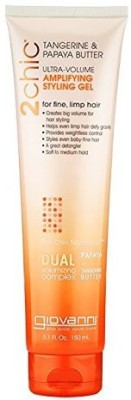Giovanni 2Chic Ultra Volume Thickening Styling Gel With Tangerine And Papaya Butter Hair Styler