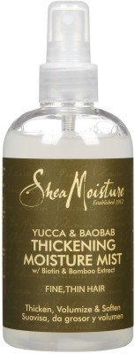 Shea Moisture Yucca And Aloe Baobab Thickening Moisture Mist Hair Styler