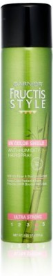 Garnier Fructis Style Anti Humidity Hairspray Uv Color Shield Ultra Strong Hold Hair Styler