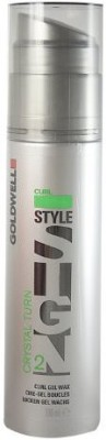 Goldwell Style Sign Crystal Turn 2 Curl Gel Wax For Unisex Hair Styler