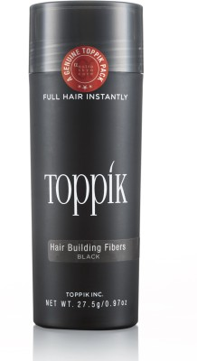 Toppik Building Fibers Black - 27.5gm Hair Styler
