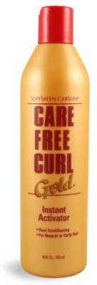 Care Free Curl Soft Sheen Carson Gold Instant Activator 16oz Or 473ml Hair Styler