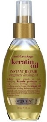 Organix Org Anti-breakage Keratin Oil Instant Repair Weightless Healing Oil Hair Styler