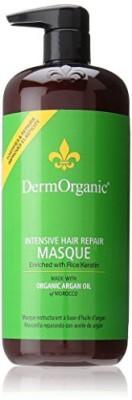DermOrganic Intensive Hair Repair Masque With Argan Oil For Unisex Hair Styler