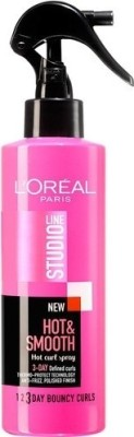 L ,Oreal Paris Studio Line Hot and Smooth Spray 3day Defined Curls Hair Styler