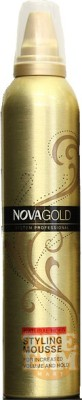 Nova Gold	Natural hold styling mousse Hair Styler