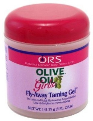 Organic Root Stimulator Olive Oil Girls Fly Away Taming Hair Gel Hair Styler