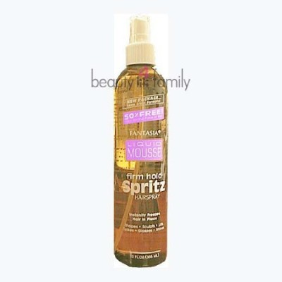 Fantasia Liquid Mousse Spritz Spray Hair Styler