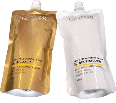 Gainor Hair Straightener Cream Hair Styler