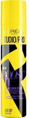 L'Oreal Paris STUDIO PRO BOOST IT VOLUME EXTRA STRONG NO.4 Hair Styler at flipkart