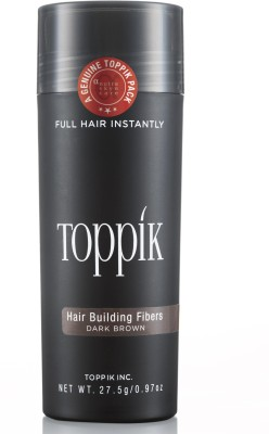 Toppik Building Fibers Dark Brown - 27.55gm Hair Styler