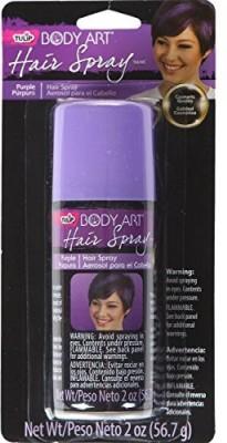 Tulip Body Art Hair Spray Purple Hair Styler