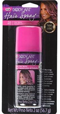 Tulip Body Art Hair Spray Pink Hair Styler