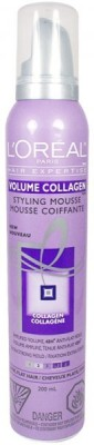 L,Oreal Paris Volume Collagen Styling Mousse 4 Hair Styler