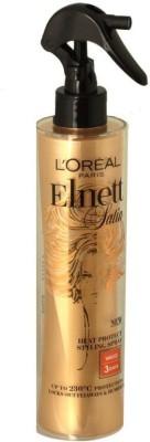 L ,Oreal Paris Elnett Satin Styling Heat Protection Spray Hair Styler