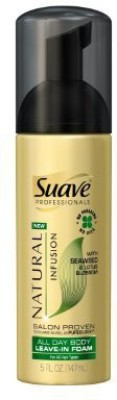 Suave Professionals All Day Body Leave In Foam Seaweed & Lotus Blossom Hair Styler
