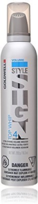 Goldwell Style Sign 4 Top Whip Ultra Strong Volume Mousse For Unisex Hair Styler