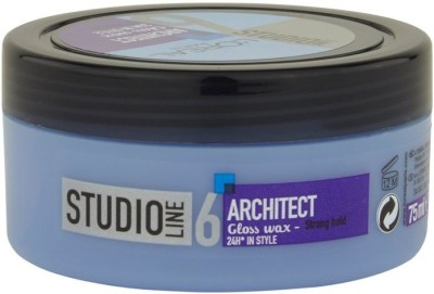 L,Oreal Paris Studio Line 6 Architect Gloss Wax 24 h in Style Strong Hold Hair Styler