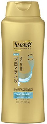 Suave Professionals Body Shampoo Sea Mineral Infusion Moisturizing Hair Styler