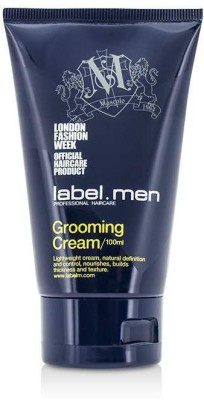 Label.m Mens Grooming Cream (Lightweight Cream, Natural Definition and Control, Nourishes, Builds Thickness and Texture) Hair Styler