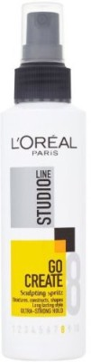 L,Oreal Paris Studio Line Go Create Sculpting Sprittz Ultra Strong Hold Hair Styler