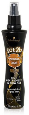 Got2B Guardian Angel Gloss Finish Blow-Out Lotion Hair Styler