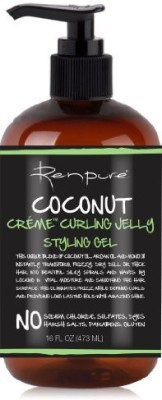 Renpure Coconut Creme Curling Jelly Styling Gel Hair Styler