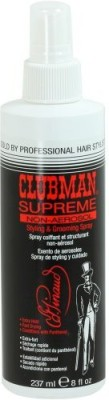 Clubman Supreme Non Aerosol Styling And Grooming Spray Hair Styler