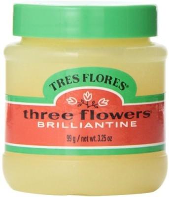 Three Flowers Brilliantine Pomade Solid Hair Styler