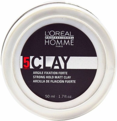 L,Oreal Paris HOMME 5 CLAY Hair Styler