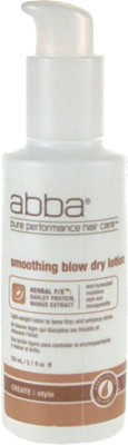 Abba Smoothing Blow Dry Lotion Hair Styler